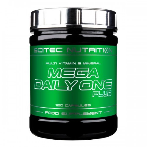 Витамины Mega Daily One Plus 120 капсул от Scitec Nutrition