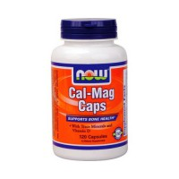 Витамины NOW Cal-Mag Caps 120 капсул